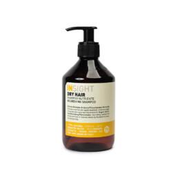 InSight Dry Hair, szampon do włosów suchych i łamliwych o działaniu odżywczym i odbudowującym. Pojemność 400ml.
