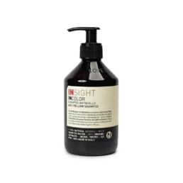 InSight InColor Anti Yellow, szampon do włosów blond. Chroni przed utratą koloru i niechcianymi odcieniami. Pojemność 400ml.