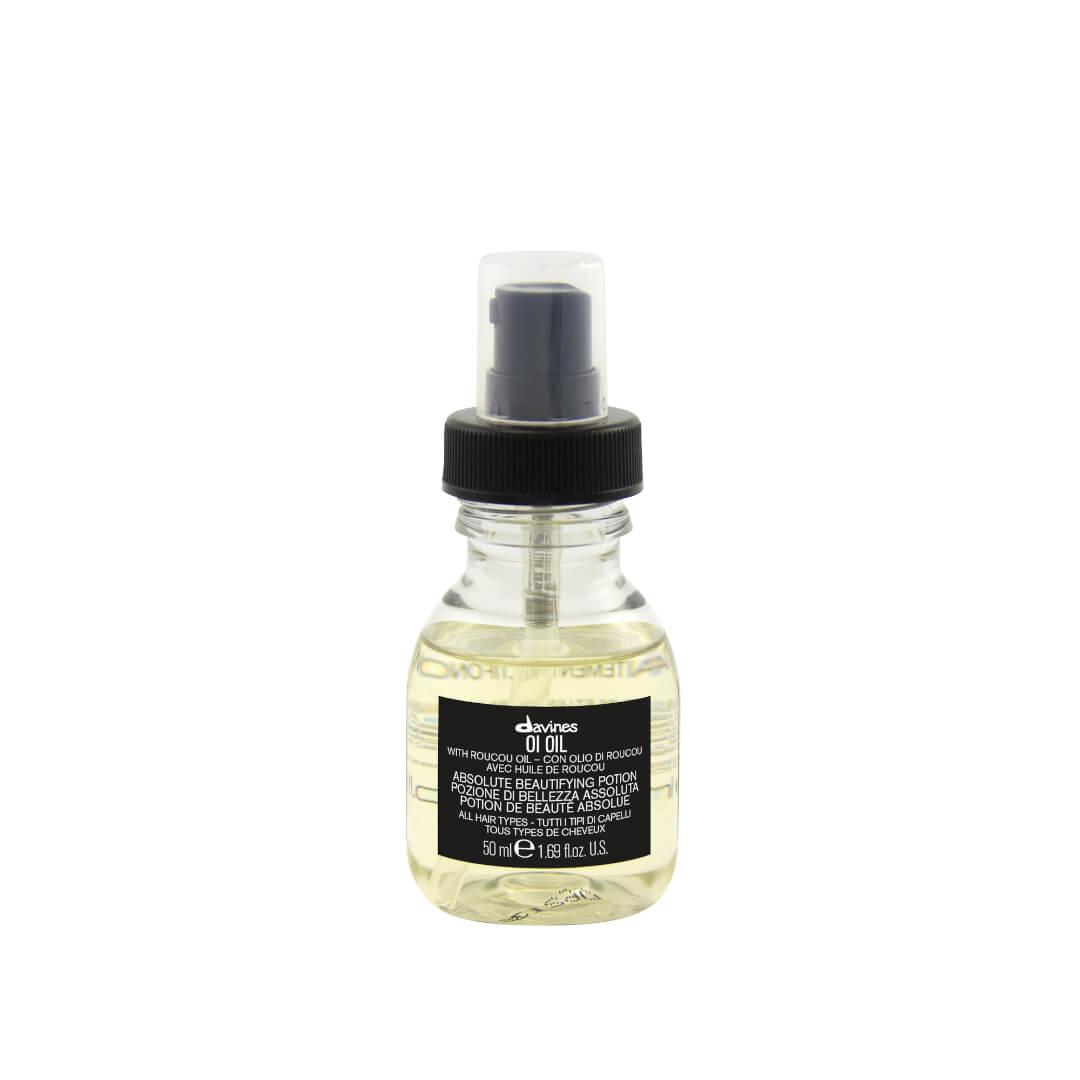 Davines OI Oil, odżywczy olejek do włosów, zapobiegający puszeniu się. Pojemność 50ml.