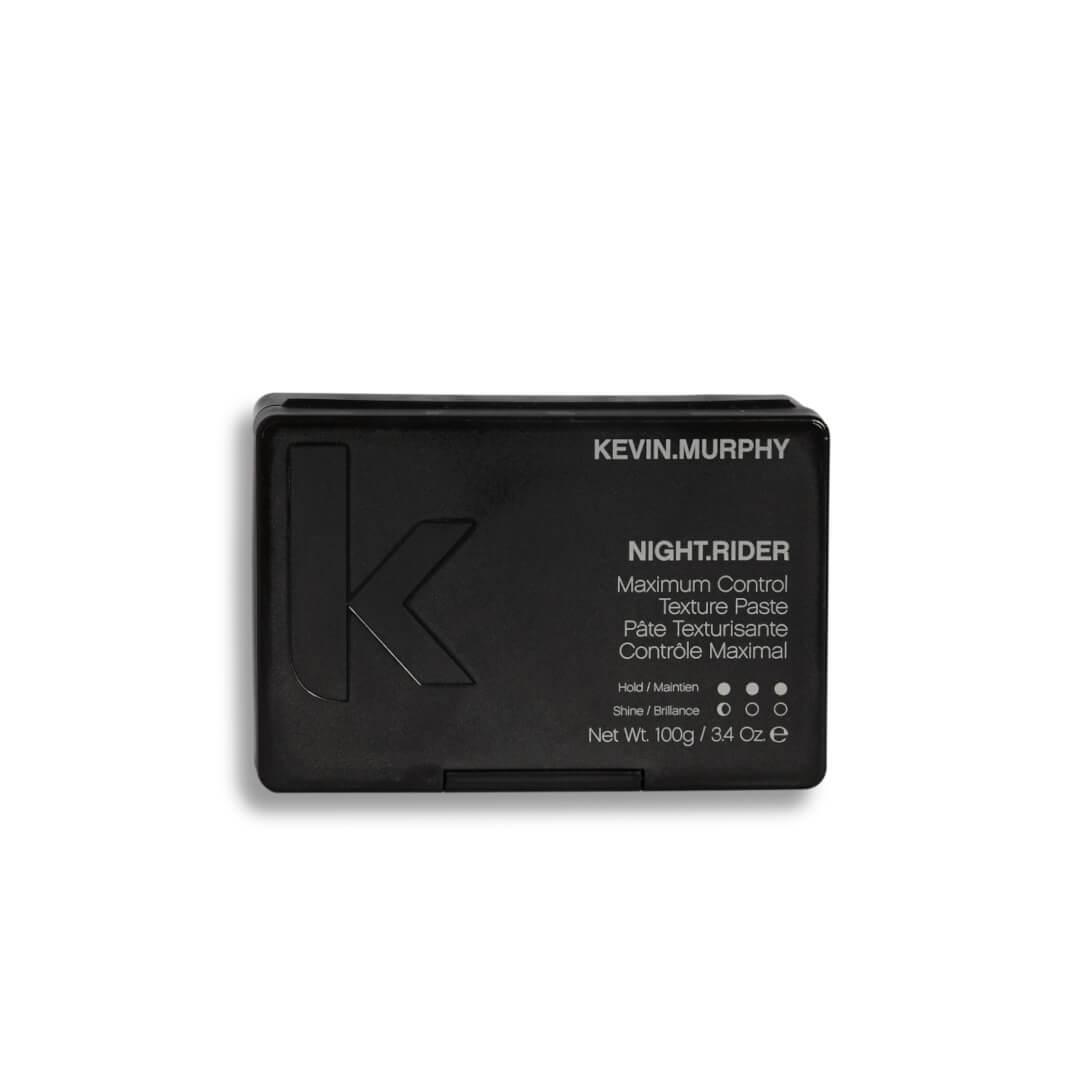Kevin Murphy Night Rider to mocno utrwalająca pasta do włosów nadająca szorstkie, matowe wykończenie. Opakowanie 100g.