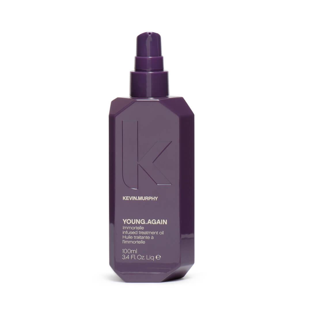 Kevin Murphy Young Again olejek do włosów suchych i zniszczonych o działaniu odżywczym i odbudowującym. Pojemność 100ml